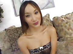 Oriental Katsumi is banged by a group of hawt dicks