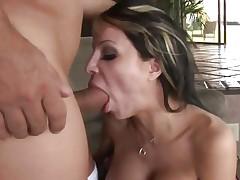 Danielle Derek face hole copulates a stiff skin flute