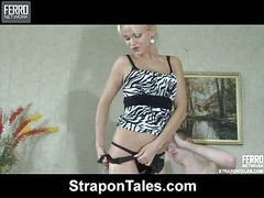 Dolly&Connor sexy strapon movie scene