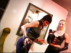 Do u like leather belts and chains? If u do then u probably love being dominated or to dominate. Sexcetera gives us a short peek of the bdsm world. Here everyone is having enjoyment and exploit their loved ones. The interviews this wench does are making things interesting but are we going to watch her punished?