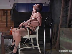 This is art, and as u can watch in the First scene we have a brown haired whore tied on a char and punished with electric shocks on her pussy. Then we get to watch the same bitch and another one tied in position 69 on the bed. If it excites u then why not watch it, it surely deserves your time and attention!