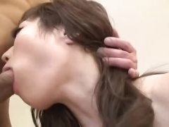Pretty Japanese star is a fuck wench