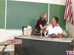 Beautiful schoolgirl fucked